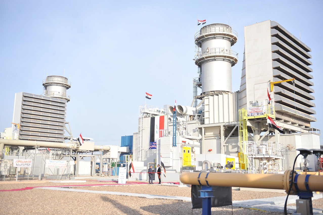 The construction of future electric power plants in Iraq