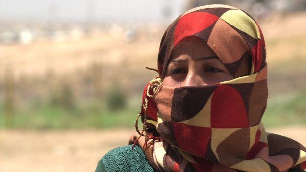احتجزت مروة داخل منزل في مقر الدولة الإسلامية في الرقة في سوريا
