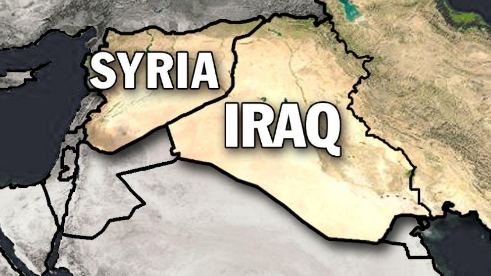 نتيجة بحث الصور عن سورية والعراق