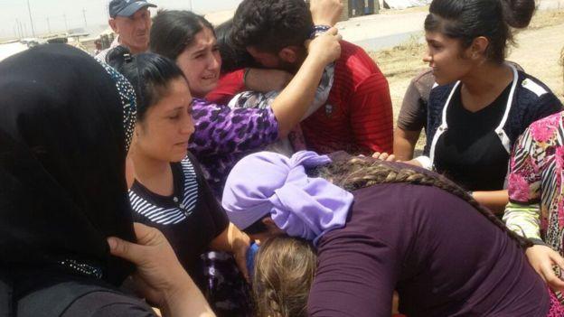 لقد حددت السلطات العراقية مكتبا لتنسيق الجهود لتأمين عودة اليزيديين