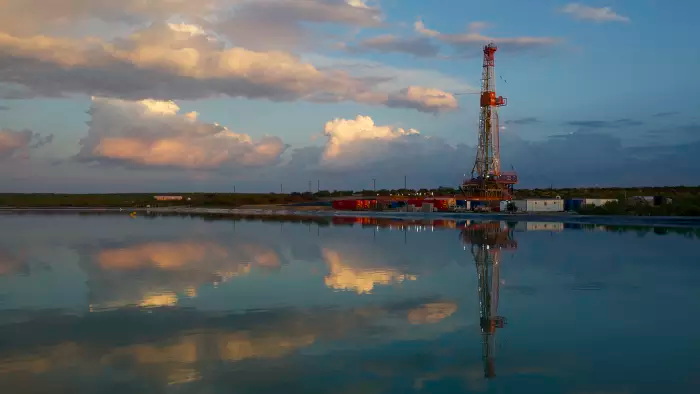 إنتاج النفط الصخري في حوض بيرميان في الولايات المتحدة