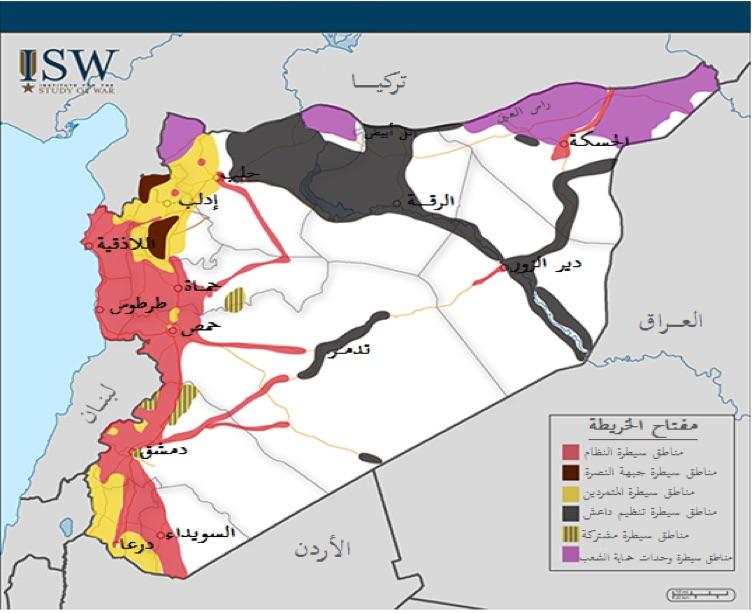 (المصدر: معهد دراسة الحرب)