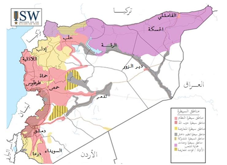 المصدر: معهد دراسة الحرب